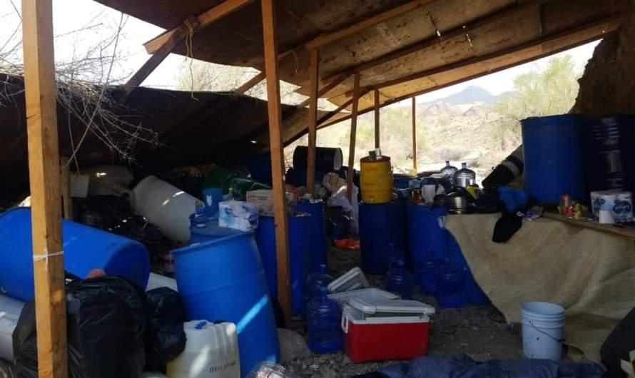 Desmantela GESI laboratorio de crystal en Valle de Mexicali,  camouflageado para evitar ser detectado