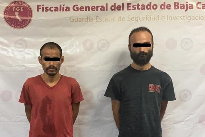 GESI detiene a dos sujetos y decomisan droga en cateo de domicilio en Rincones de Puebla
