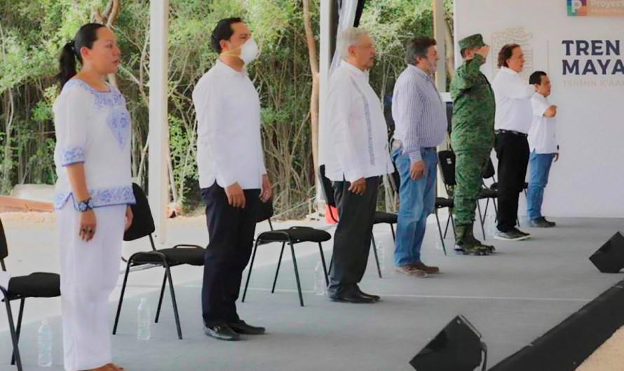 """""""El tren maya es un proyecto con visión de cuidado y conservación de la vida"""": Secretaria de Medio Ambiente"""