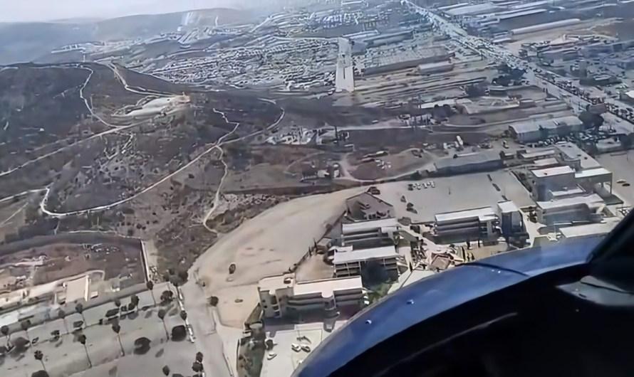 Sobrevuela Jaime Bonilla obras de infraestructura vial de Ensenada
