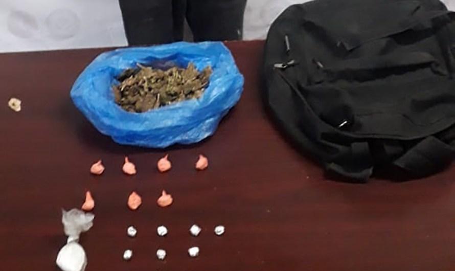 Detiene la Fiscalía General del Estado a 4 presuntos vendedores de droga en Mexicali
