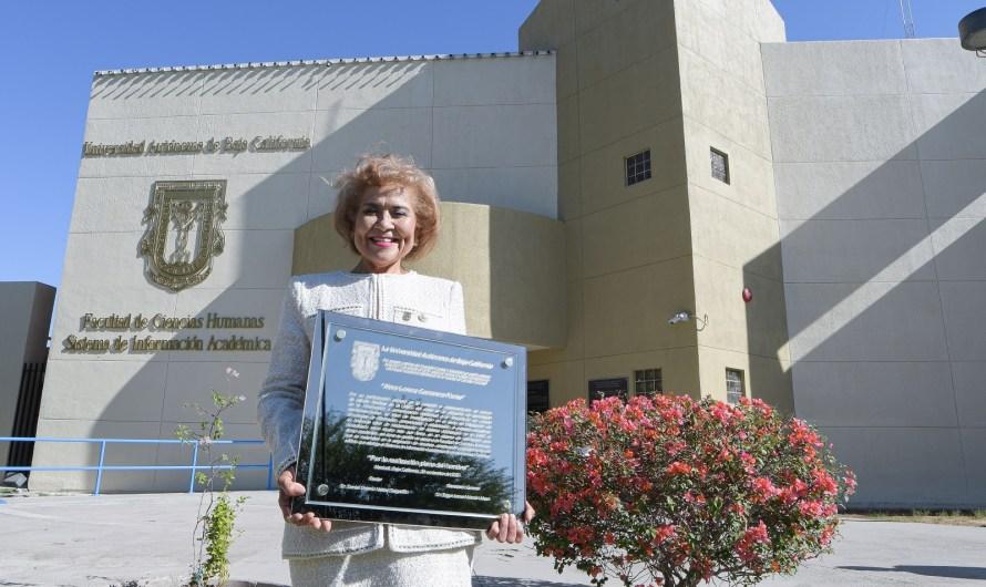 Otorga UABC reconocimiento al Mérito Universitario a Alma Lorena Camarena Flores