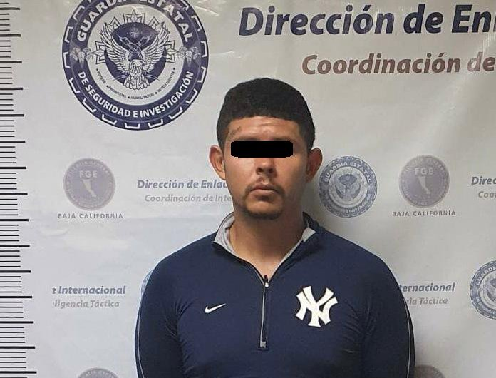 Man wanted for methamphetamine traffic in Los Angeles was arrested in Mexicali by the State Guard