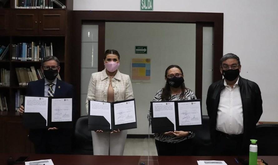 Firma Marina del Pilar convenio de cambio climático con el INECC en CdMx