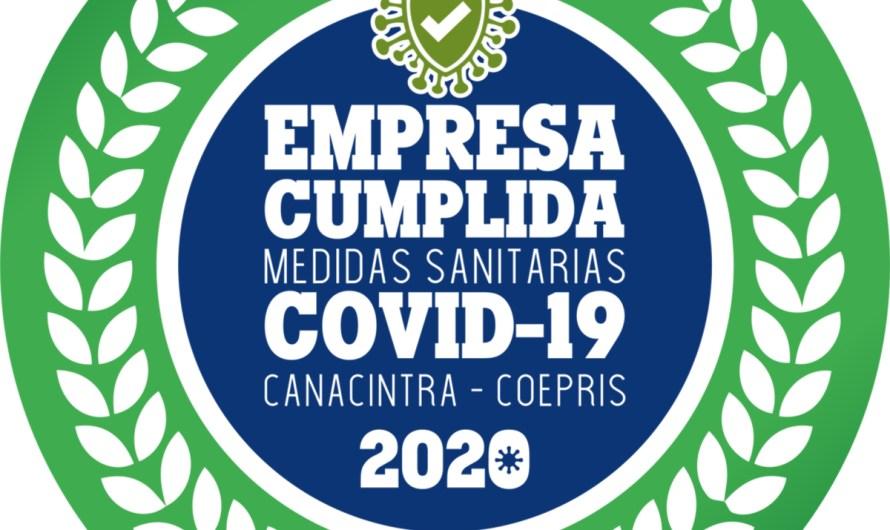 Promueven CANACINTRA y COEPRIS cumplimiento de protocolos de salud por COVID19
