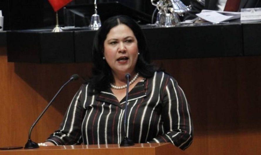 Asegura Senadora León que cervecera sigue en construcción, exigió se cumpla la orden del Presidente