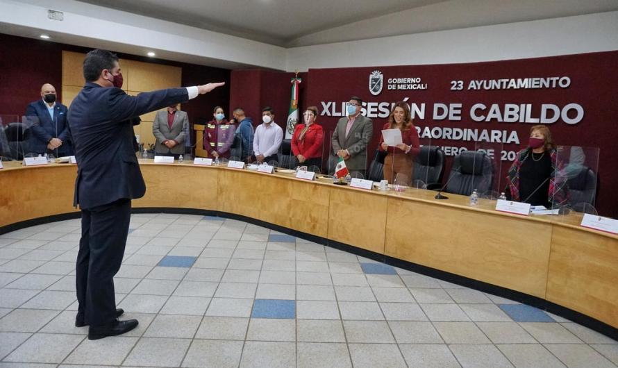 Manuel Zamora es el nuevo Secretario del Ayuntamiento de Mexicali, sustituye a Netzahalcoyotl Jáuregui