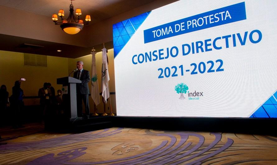 Víctor Hugo Delgado termina gestión en INDEX Mexicali, asume Presidencia Joaquín Jimenez