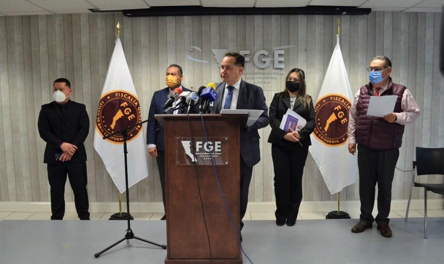 Informa la Fiscalía General del Estado sobre casos importantes e informa resultados