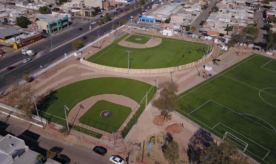 Continúa Marina del Pilar impulsando el deporte en Mexicali con mas unidades deportivas