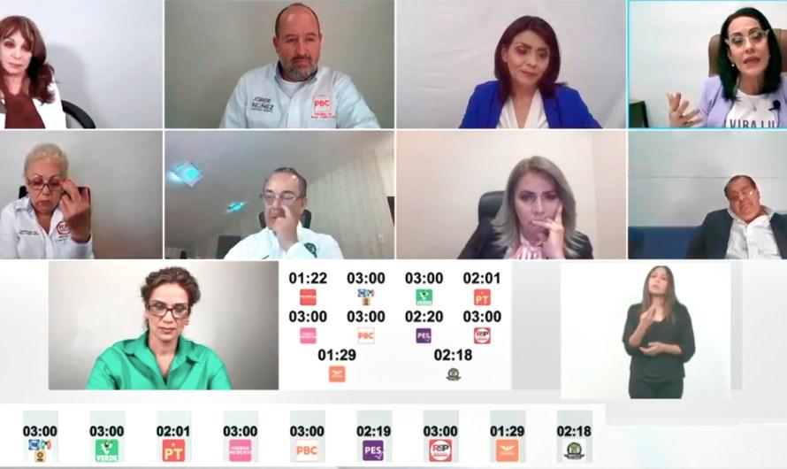 Administrar el tiempo, vital en debates electorales, estrategia determinante entre dispersión de candidatos