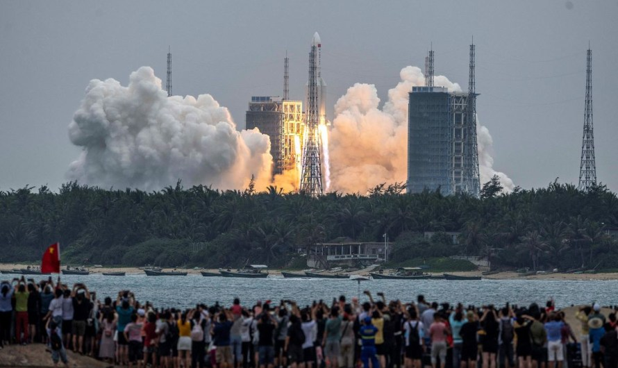 Chinese rocket is expected to plunge back to earth late Saturday or early Sunday, impact location unknown