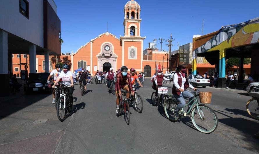 """""""Impulsaré el uso de la bicicleta con ciclovías y rutas para reducir contaminación"""": Norma Bustamante"""