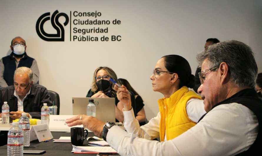 Lupita Jones se reunió con el Consejo Ciudadano de Seguridad Pública en Tijuana