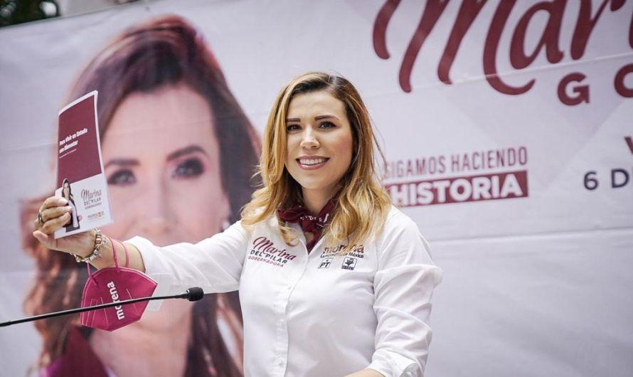 Promete Marina del Pilar hogares dignos para todos los bajacalifornianos en si Gobierno