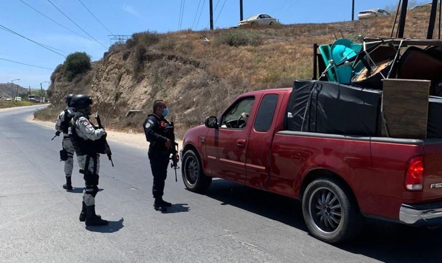 Refuerza Fiscal General del Estado operativos de seguridad en zonas problemáticas de Tijuana