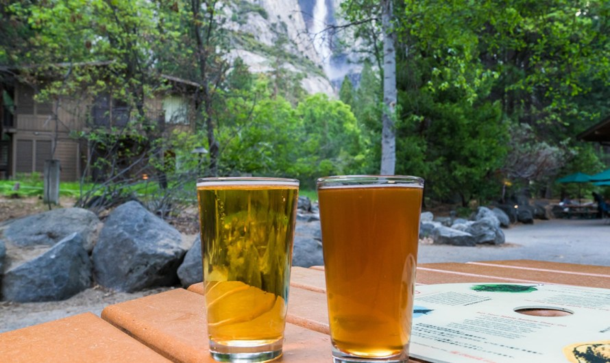 Yosemite Valley craft beers served at Mountain Room Lounge: refreshment among natural beauty