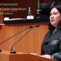 Pide Senadora Alejandra León investigar el proyecto de la planta fotovoltaica en Mexicali