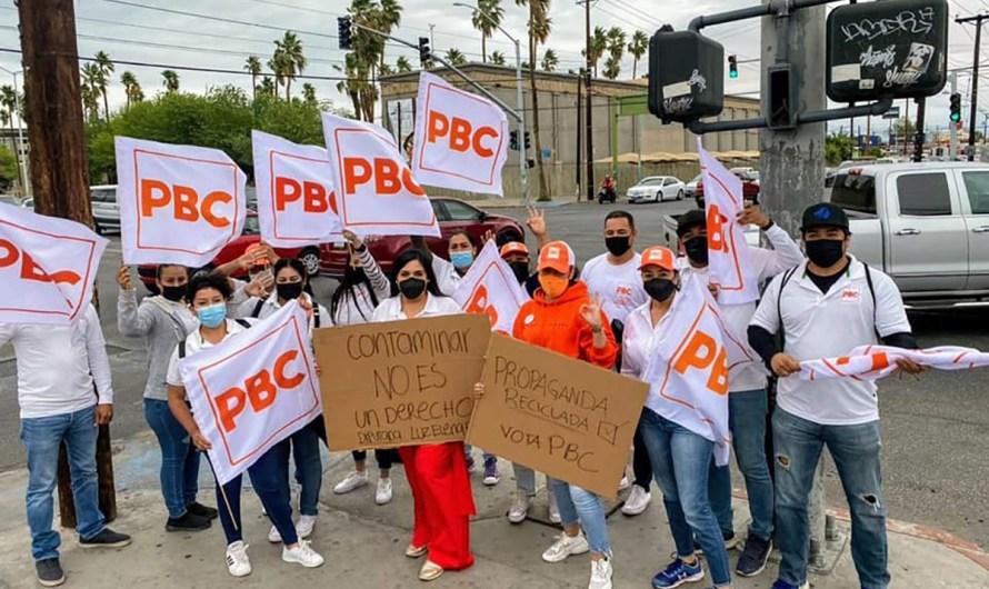 Cierra campaña Luz Elena Fonseca del PBC con operativo de cruceros limpios