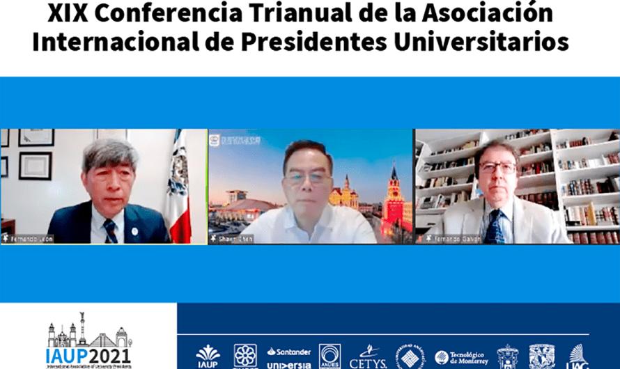 Fernando León, Rector de Sistema CETYS, Presidente de Asociación Internacional de Presidentes Universitarios