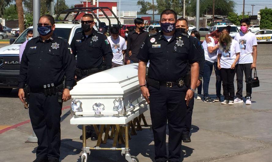 Ausente alcaldesa Lupita Mora en servicios fúnebres de policía asesinado frente a su casa: ¿Politiquerías?