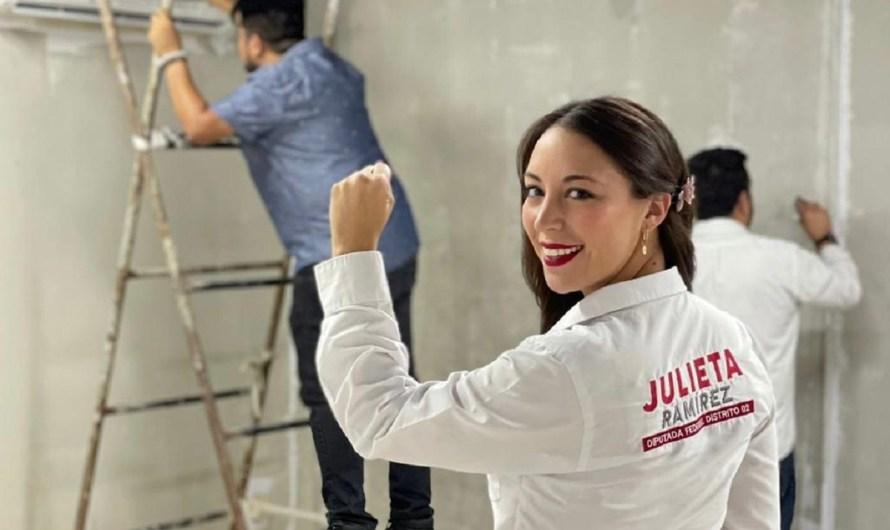 Inaugurará Julieta Ramírez Casa Comunitaria en Mexicali el 26 de septiembre asisten Marina del Pilar y Norma Bustamante