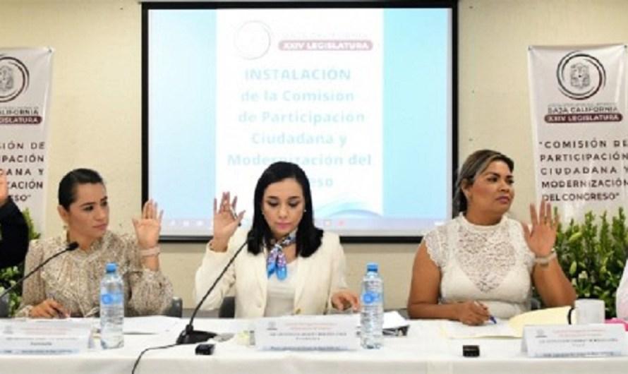 Asume presidencia de Comisión de Participación Ciudadana la diputada Amintha Briseño Cinco (PAN)