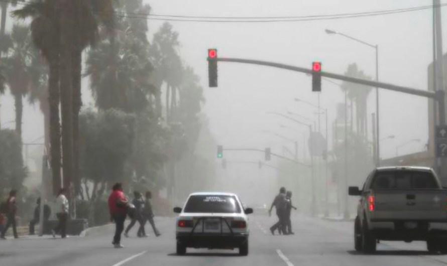Alerta en Protección Civil del Estado por condición de vientos de Santana este fin de semana