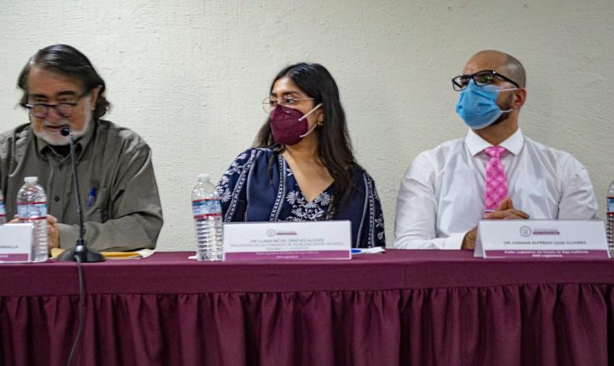 Grupos ProVida se niegan a entrar a conferencia sobre interrupción legal de embarazo en Congreso del Estado