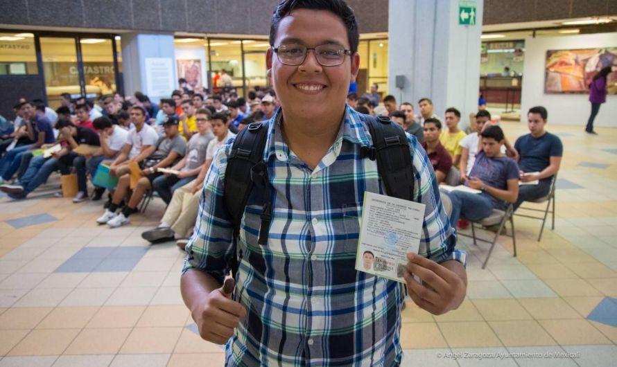 Invita Ayuntamiento de Mexicali a jóvenes a registro de cartilla de identidad militar