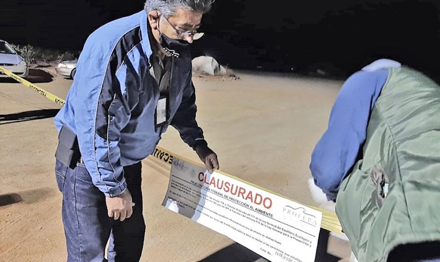 Clausura PROFEPA Foro del Conciertos de Cristian Nodal en Valle de Guadalupe, destruyen 25 hectáreas
