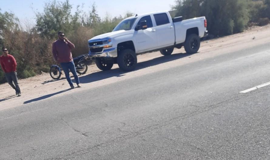 Agreden a periodista de RadarBC y SEMANARIO ZETA que sacaba fotografías en poblado del Valle de Mexicali