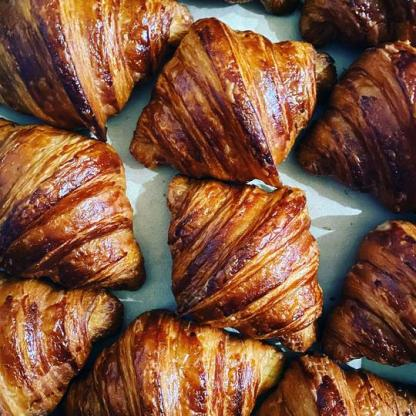 A selection of Croissants