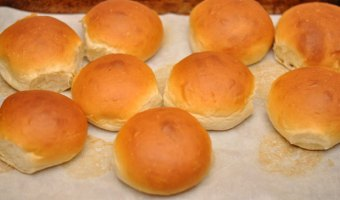 Homemade Hamburger Rolls