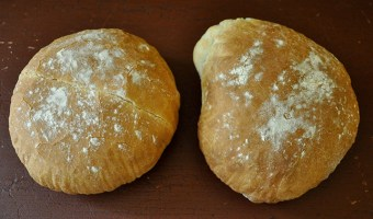 Saltless Tuscan Bread