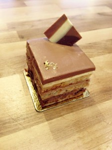 Tripple Chocolate Layer Gateaux
