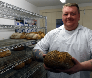 Colin is a wonderful addition to our Bakery team and we can't wait to see more of his fantastic products. Keep an eye on our Facebook page and be sure to pop in to the shop to see him work his magic!
