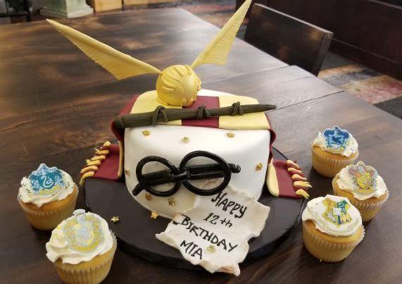 Harry Potter Custom Cake