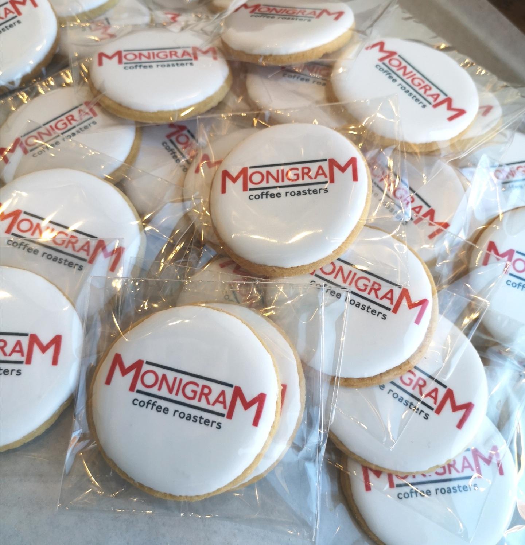 Corporate Custom Logo Cookies
