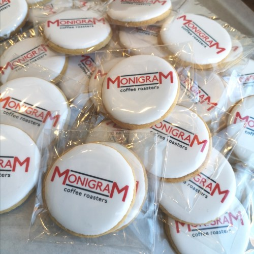 Corporate Custom Logo Cookies