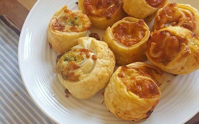 Makkelijk hapje: Pizza Rolls