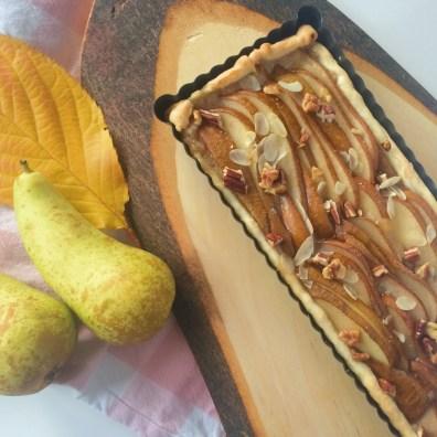 Peren-Spijs- gember taart
