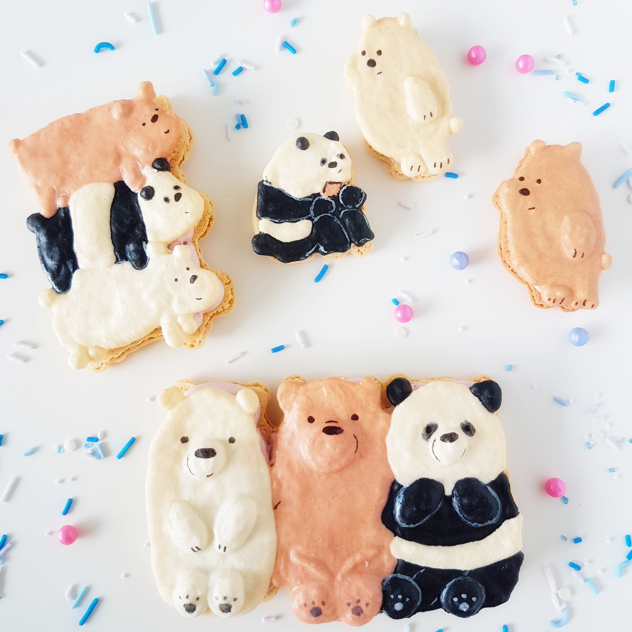The Baking Experiment We Bare Bears Macarons