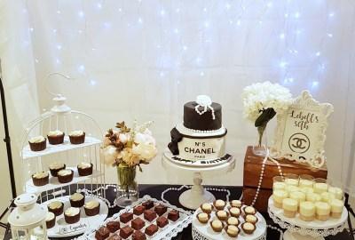 Chanel Theme Dessert Table