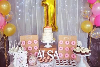 Pastel Pink dessert table