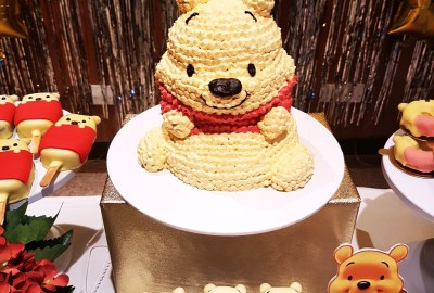 Winnie the Pooh Dessert Table by The Baking Experiment