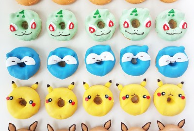 Pokemon donuts by The Baking Experiment