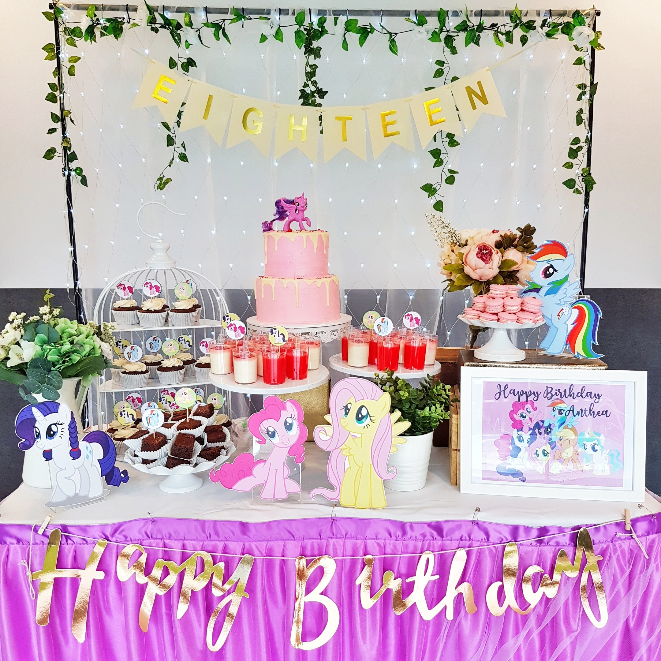 My Little Pony Dessert Table by The Baking Experiment