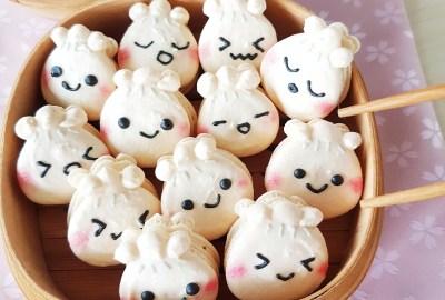 Xiao Long Bao Dumpling Macarons by The Baking Experiment