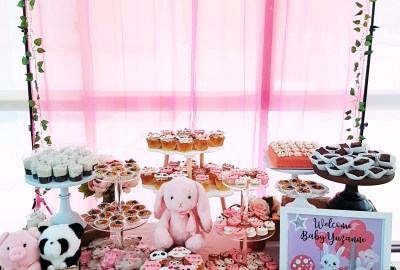 Cute Animals Dessert Table by The Baking Experiment